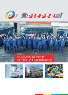 Elektro Pieper Broschüre